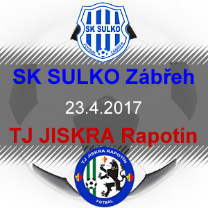 SK SULKO Zábřeh – TJ JISKRA Rapotín
