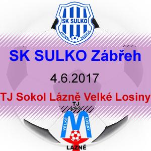 SK SULKO Zábřeh – TJ Sokol Lázně Velké Losiny
