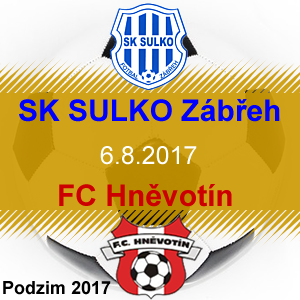 SK SULKO Zábřeh – FC Hněvotín