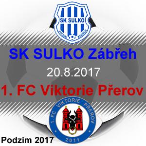 SK SULKO Zábřeh – 1. FC Viktorie Přerov
