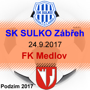 SK SULKO Zábřeh – FK Medlov