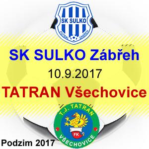 SK SULKO Zábřeh – TATRAN Všechovice