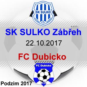 SK SULKO Zábřeh – FC Dubicko