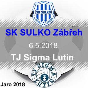SK SULKO Zábřeh – TJ Sigma Lutín