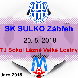 SK SULKO Zábřeh – TJ Sokol Velké Losiny