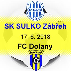 SK SULKO Zábřeh – FC Dolany