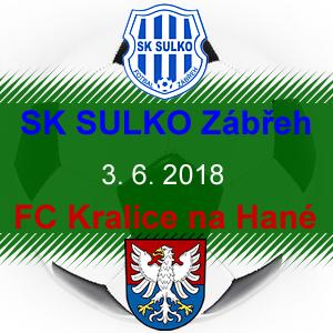 SK SULKO Zábřeh – FC Kralice na Hané