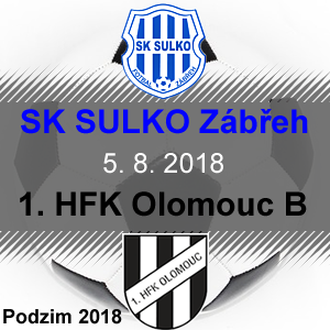 SK SULKO Zábřeh – 1. HFK Olomouc B