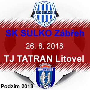 SK SULKO Zábřeh – TJ TATRAN Litovel