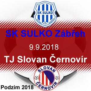 SK SULKO Zábřeh – TJ Slovan Černovír